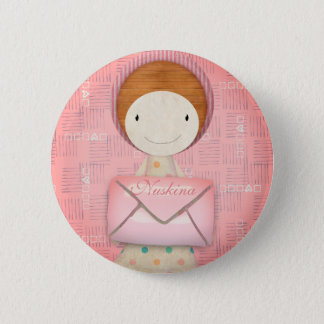 You have a letter 2 inch round button