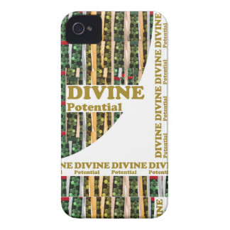 You have in U : DIVINE POTENTIAL remind ALL U LOVE iPhone 4 Case