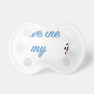 You Have the Key to My Heart Pacifier