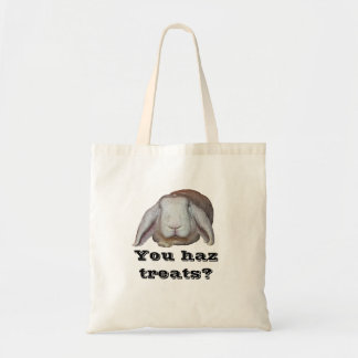 You haz treats? Tote (Deaners) Budget Tote Bag
