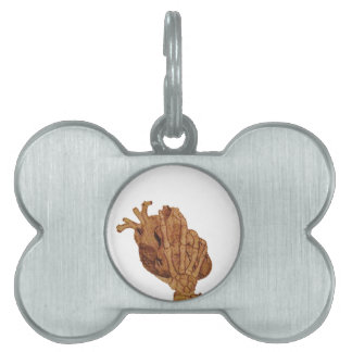 you hold my heart in your hands pet tag