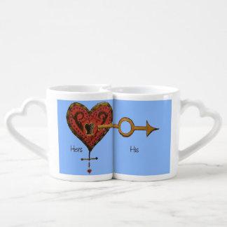 You Hold The Key To My Heart Coffee Mug Set