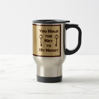 You Hold the Key to My Heart Mug for Him or Her