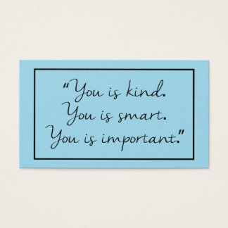 You is Kind. Business Card