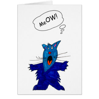 You KNOCK Me OW t!  - card