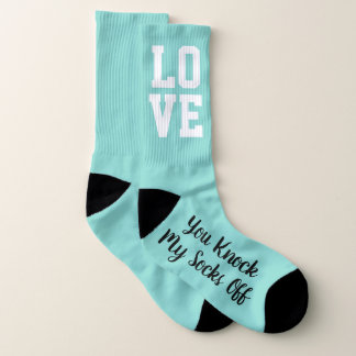 You Knock My Socks Off Groom Bridal Party Socks