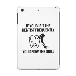 You Know The Drill iPad Mini Retina Cover