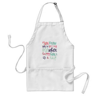 you know your old standard apron
