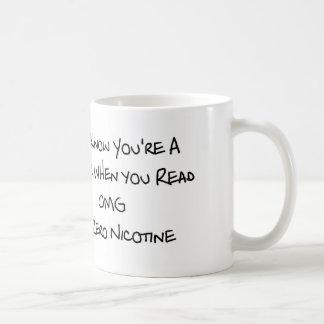 You Know You're a Vaper 11 oz Classic White Mug