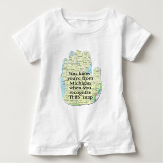 You Know You're From Michigan When You Recognize Baby Romper