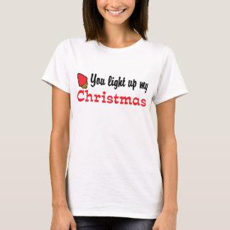 You Light Up My Christmas T-Shirt