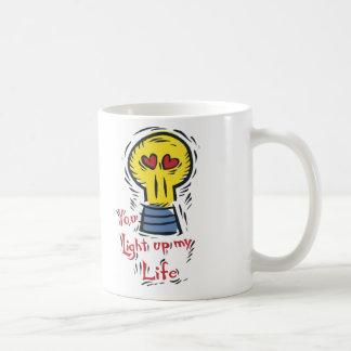 You Light Up My Life Coffee Mug