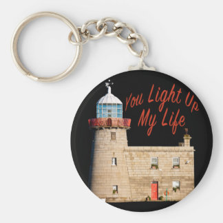 You Light Up My Life Keychain