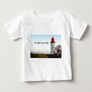 You light up my life: lighthouse baby T-Shirt