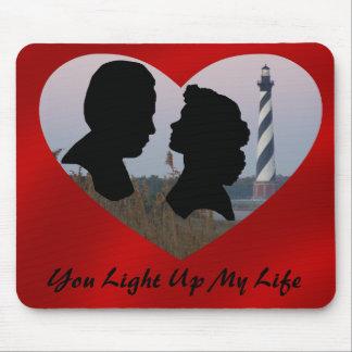 YOU LIGHT UP MY LIFE-MOUSEPAD MOUSE PAD