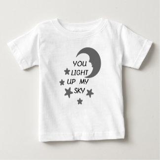 You Light Up My Sky Baby Tee