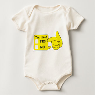 YOU LIKE? yes or no Baby Bodysuit