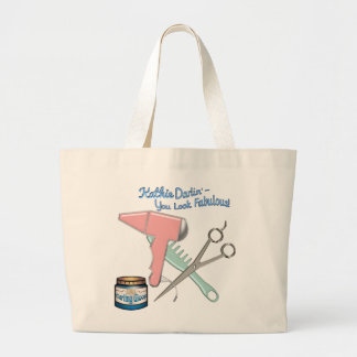 You Look Fabulous! - Personalized Large Tote Bag