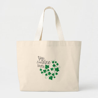 You Look Vine Large Tote Bag
