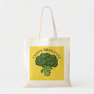 You love broccoli? tote bag