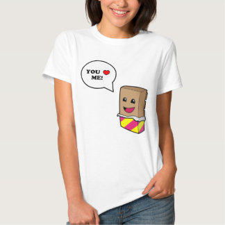 You Love Chocolate Zazzle T Shirt