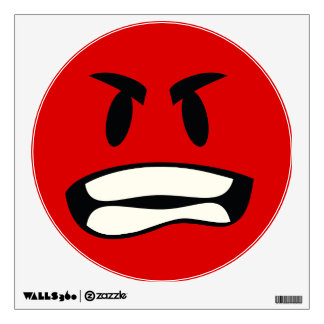 You mad bro? The rage emoji Wall Decal