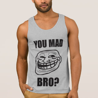 You Mad Bro? - Troll Face