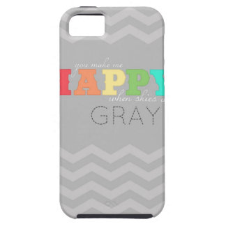 you make me happy, chevron iPhone case