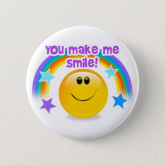 you make me smile! 2 inch round button