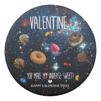 You make my universe sweet Valentine Eraser