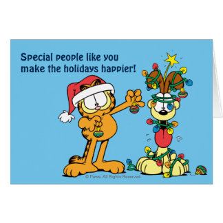 You Make the Holidays Happier Note Card