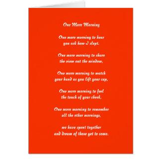 You Make the Sun Rise Valentine Card