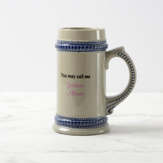 You May Call Me Beer Stein
