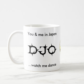 You & me in Japan DJO mug