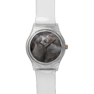 You Mean Otter World To Me Otters Love Kissing Wristwatch