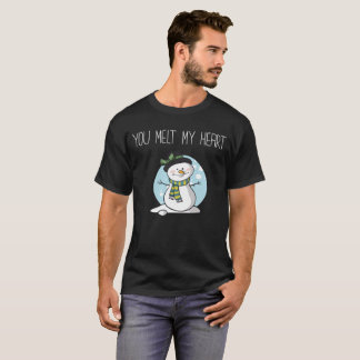 You Melt My Heart Winter Boyfriend Girlfriend T-Shirt