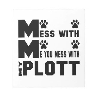 You mess with my Plott Notepad