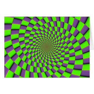 You might feel dizzy card