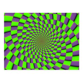 You might feel dizzy postcard