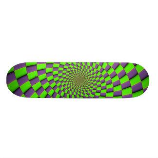 You might feel dizzy skate board deck