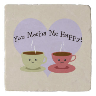 You Mocha Me Happy Trivet