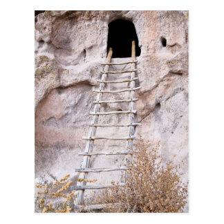 You Must Climb Pueblo Ladder Postcard