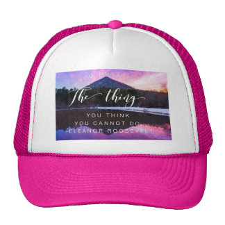 You Must Do Inspirational Hat