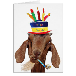 You Ol' Goat Card