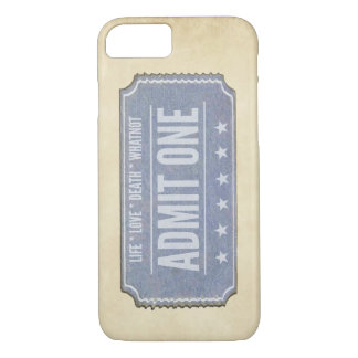 You only get one.  Don't waste it. iPhone 7 Case