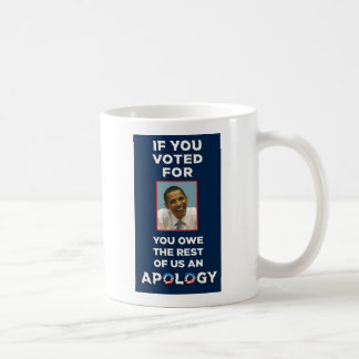 You_Owe_Apology Coffee Mug