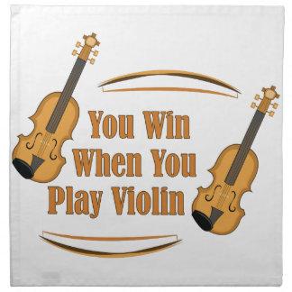 You Play Violin Cloth Napkins