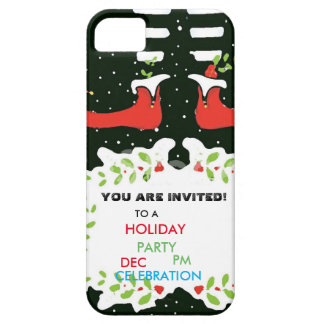 You plows invited Holiday Party Case For The iPhone 5