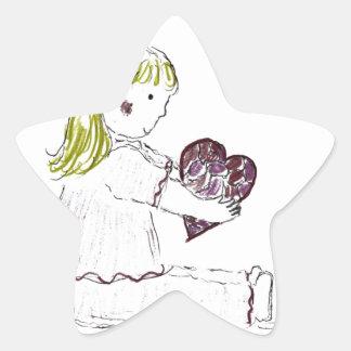 You Put My Broken Heart Together Star Sticker