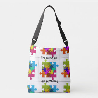 You Puzzle Me Novelty Cross Body Bag
